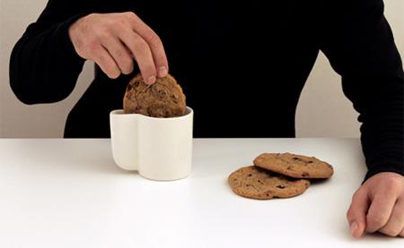 tazas de empresa para tomar con galletas