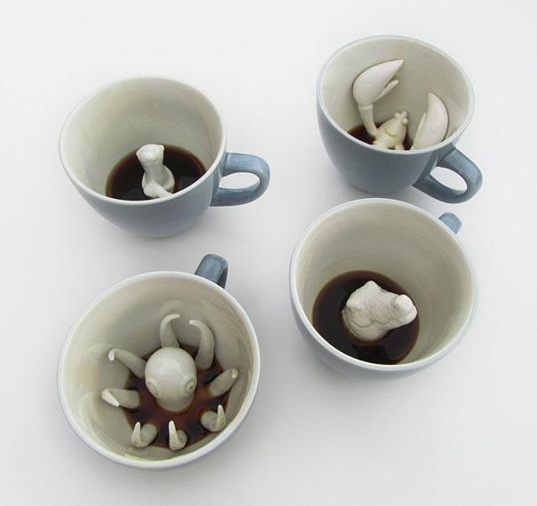 Tazas publicitarias originales en cerámica
