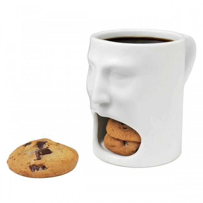 Tazas con compartimento para galletas