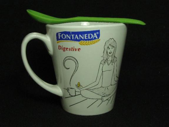 Taza desayuno personalizada Fontaneda