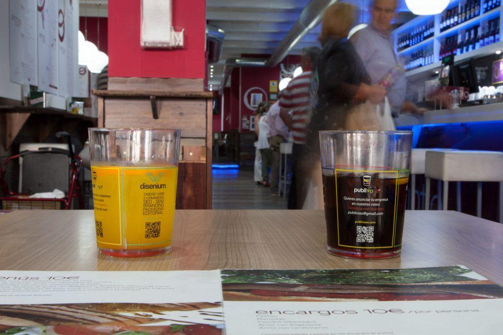 Publivaso: el vaso personalizado como soporte multi publicidad