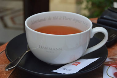 La historia de las tazas de té