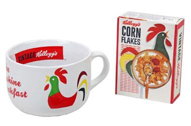 Las tazas desayuno de Kellog's