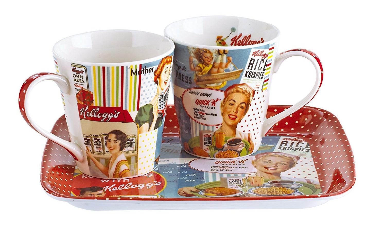 Tazas publicitarias de Kellog's