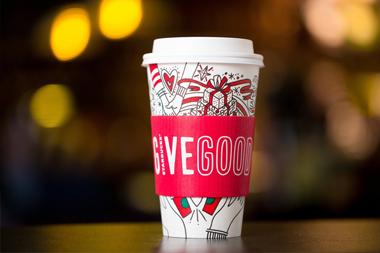 El vaso personalizado de navidad Starbucks 2017