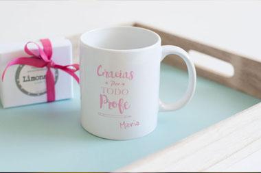 Tazas personalizadas con mensaje para eventos, bodas y comuniones