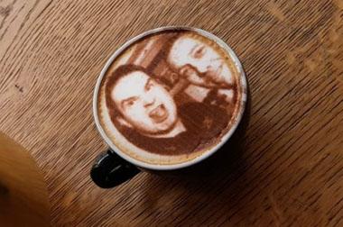 Selfieccino la nueva forma de personalizar tu café