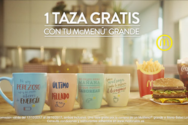Tazas publicitarias para marketing y merchandising