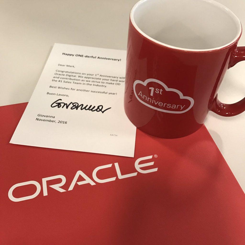 Tazas personalizadas Oracle