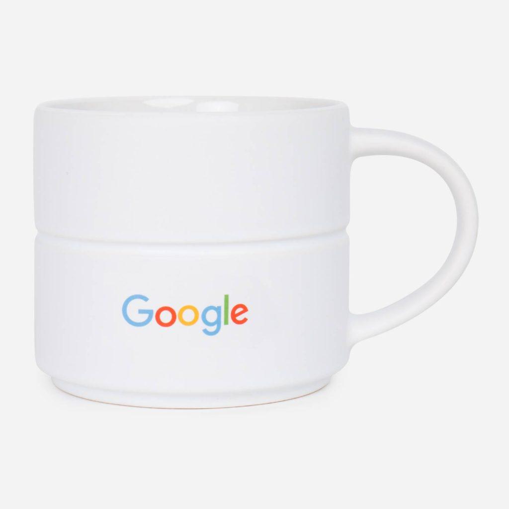 Tazas corporativas de Google