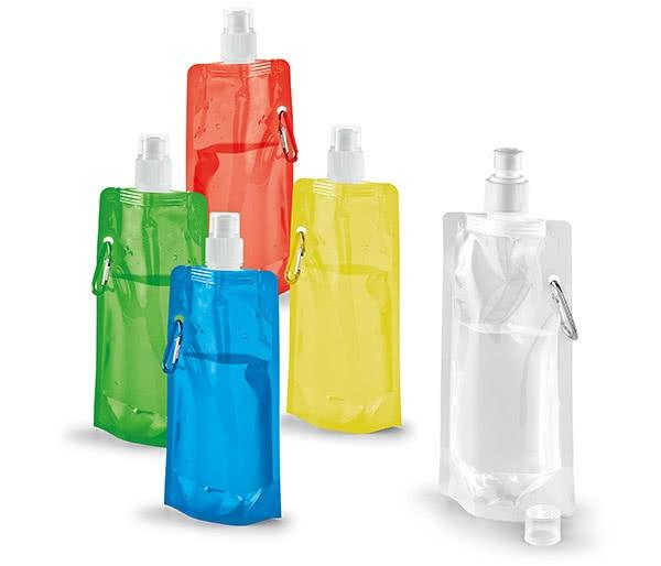 Botellas plegables publicitarias promocionales