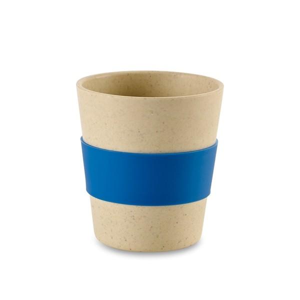 Vaso de fibra de bambú