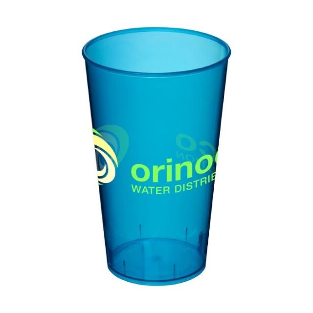 Vaso de plástico con logotipo