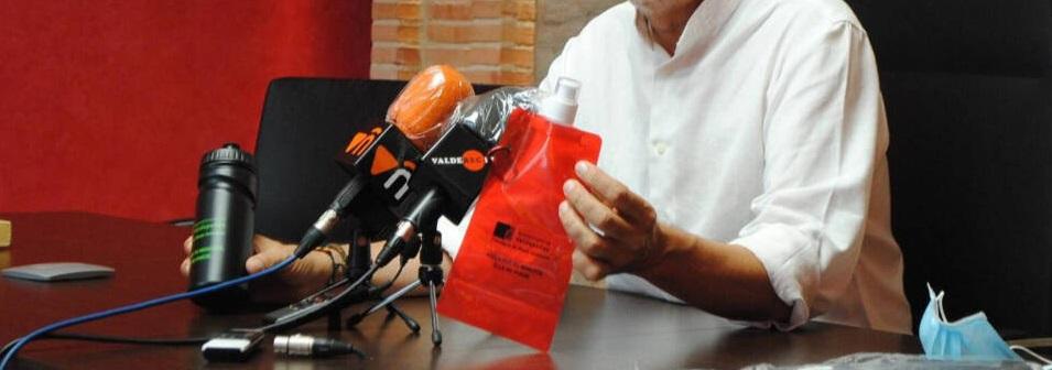botella reutilizable Valdepeñas