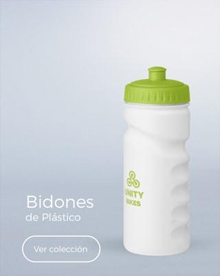 Bidones y botellas de plástico personalizadas con logo