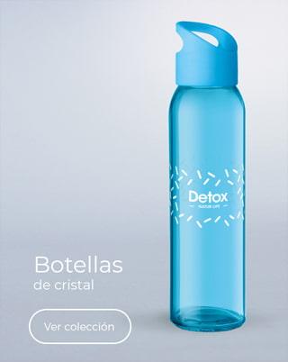 Botellas de vidrio personalizadas