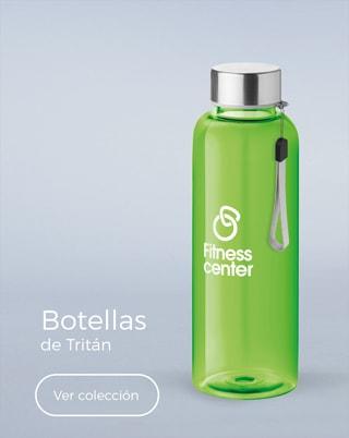 Botellas de tritán personalizadas con logo