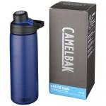 Botella de acero personalizable azul