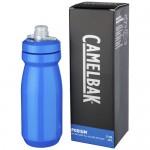Botella deportiva azul para personalizar