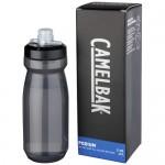 Botella de plástico merchandising gris