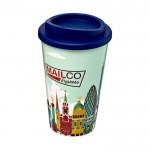 Tazas take away merchandising azul