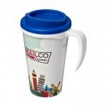 Tazas de café para llevar personalizadas azul