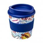vasos personalizados para café color azul