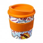 Tazas take away personalizadas naranja