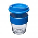 Tazas takeaway merchandising azul