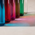 Botellas de cristal con logotipo