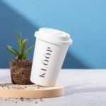 Tazas take away compostables con logo