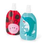 Botellas plegables para niños merchandising