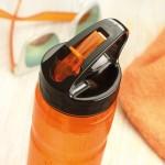 Botellas personalizadas deporte con pajita