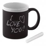 Personalizar tu taza pizarra con tu logotipo (300ml)