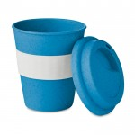 Vasos personalizados de café azul