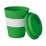 Vasos take away con logotipo verde