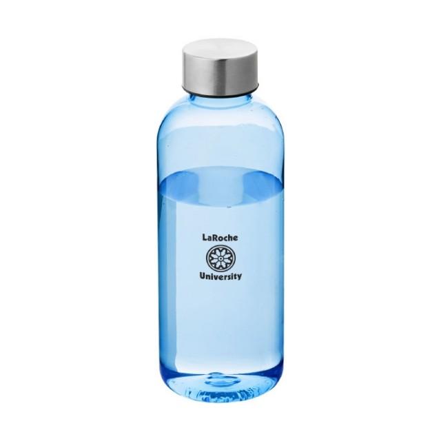 Botellas tritán publicidad azul