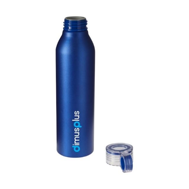 Botellas de aluminio de agua personalizadas azul