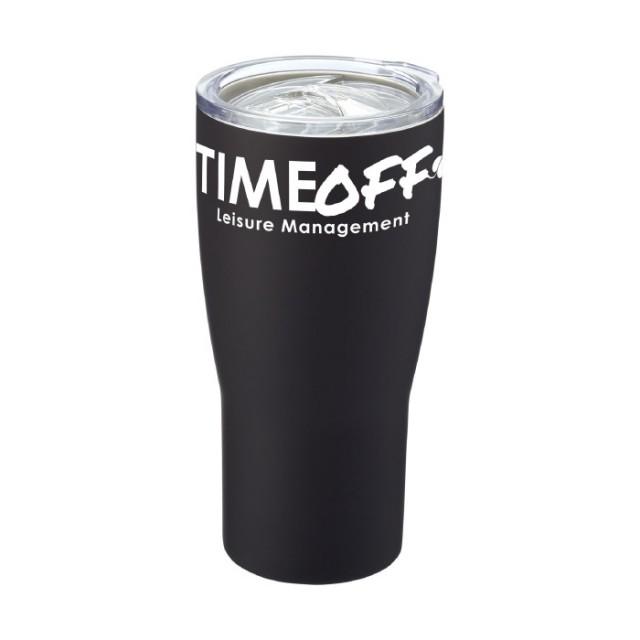 Vasos termo personalizados negro