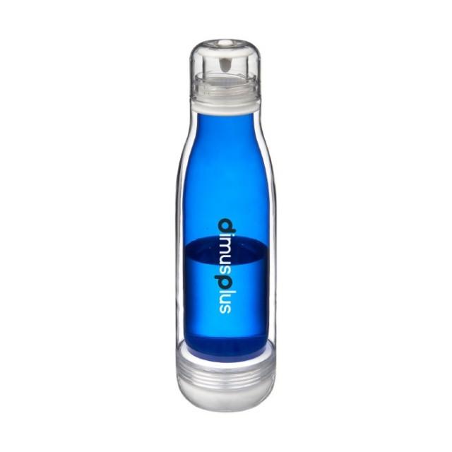 Botellas de tritán y cristal con logotipo
