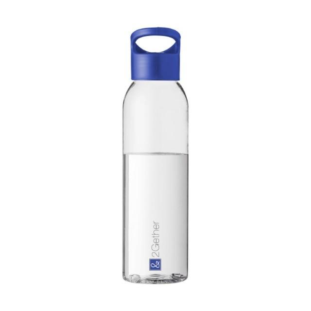 Botella personalizada tritán azul