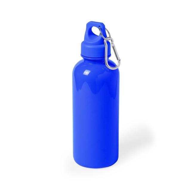 Botellas personalizadas baratas azul