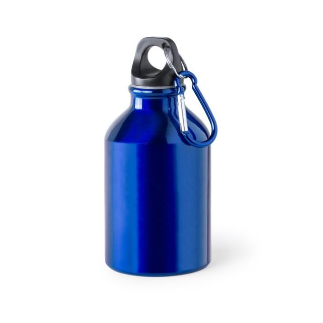 Botellas de agua de aluminio personalizadas color azul