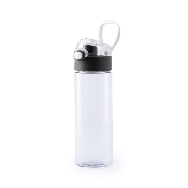 Botella sin BPA personalizada negro