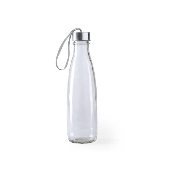 Botellas cristal merchandising