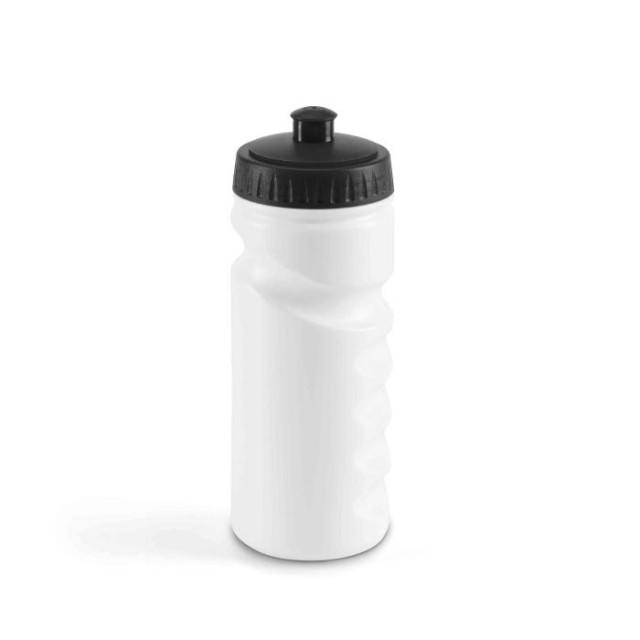 Botellas publicitarias de plástico negro