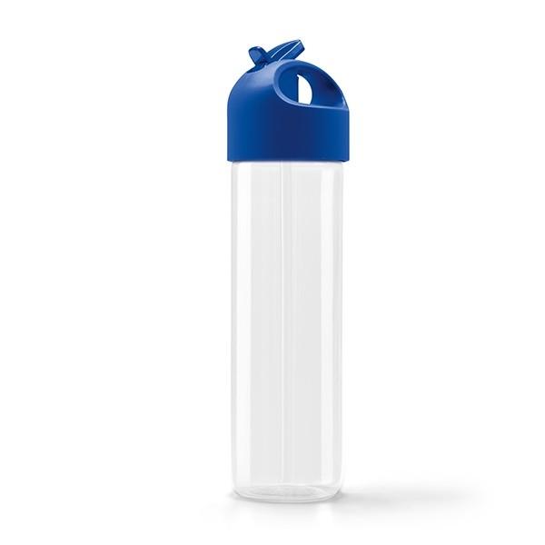Botellas de plástico personalizadas azul