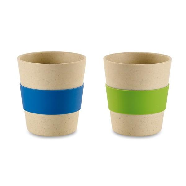 Vasos de bambú personalizados
