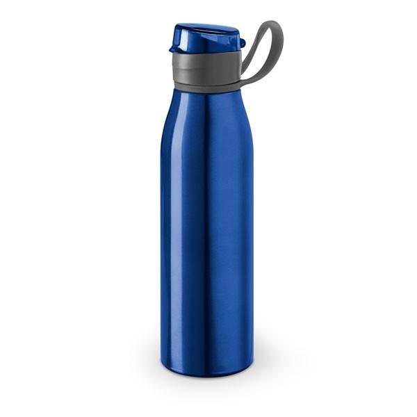 Botellas de aluminio personalizadas azul