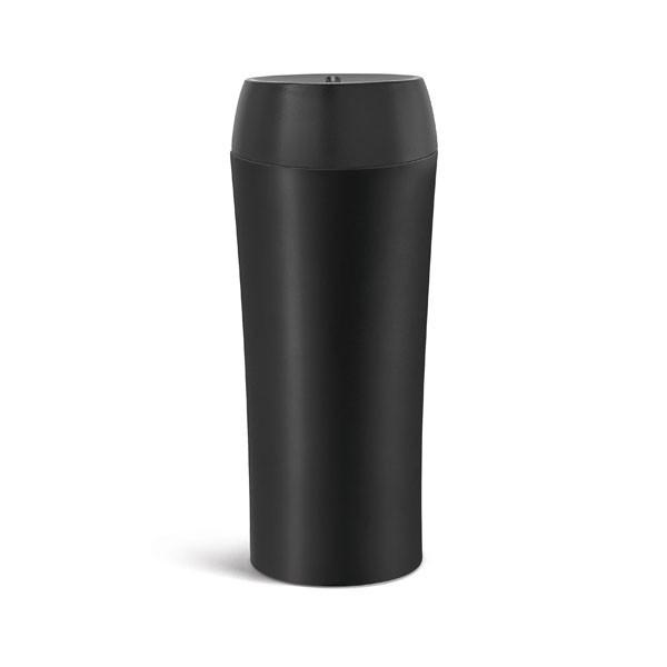Vaso térmico con logotipo empresa negro